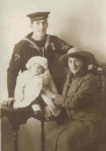 Royal Navy World War 1 Chief Yeoman Of Signals George