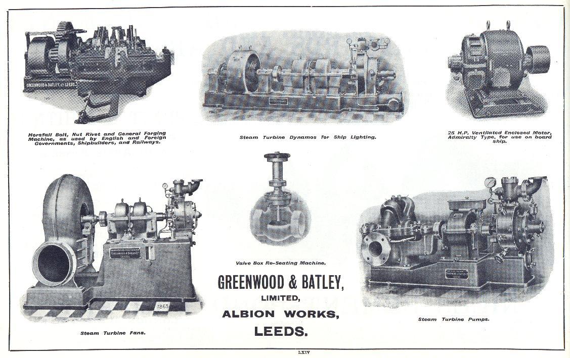 Shipbuilding and Repair Industries, 1914-18