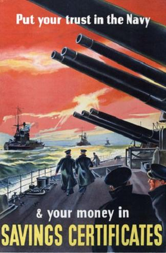 Posters of the Royal Navy in World War 2