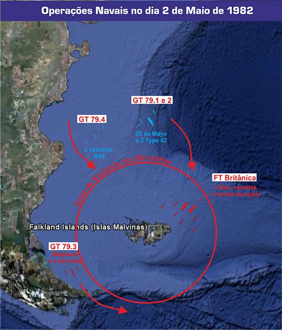Mapa Malvinas