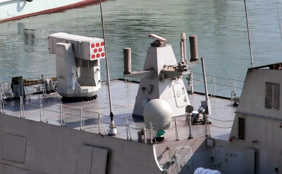 Type_056_corvette_FL-3000N_8-round_SAM_launcher