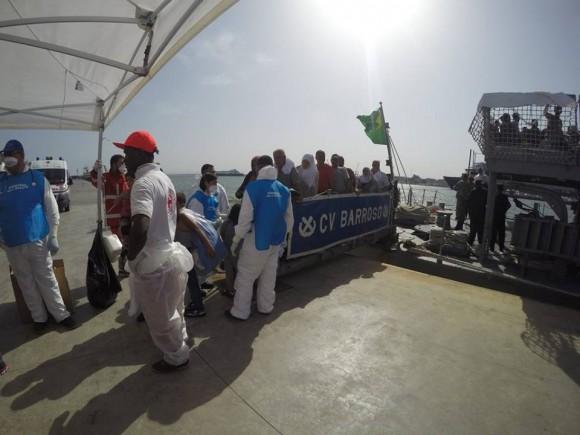 Barroso - resgate refugiados Mediterraneo - foto 9 facebook MB