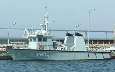 MRD4 ved Flådestation Korsør