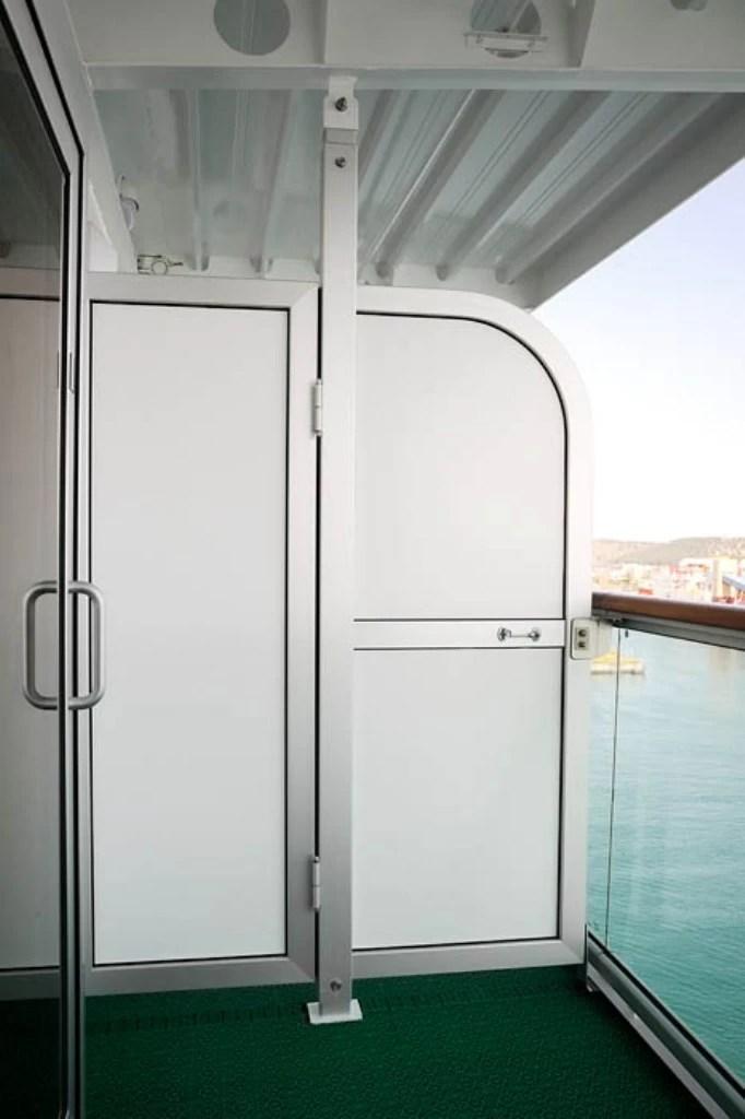 Balcony Dividers