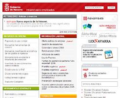 El Gobierno de Navarra moderniza la intranet que presta servicio a sus 24.000 empleados