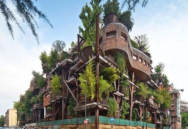 La Arquitectura Verde Ante Un Edificio Muy Verde Navarro
