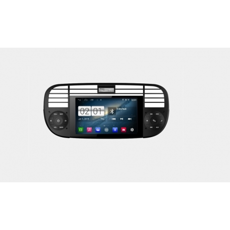 Fiat 500 Autoradio op basis van android navigatie full