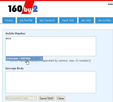 Online Free SMS Applications – With Address Book & Reminders
