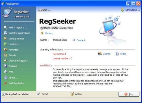 RegSeeker