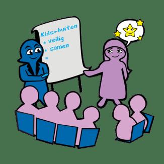 illustratie boekje Durf te Dromen over Empowerment