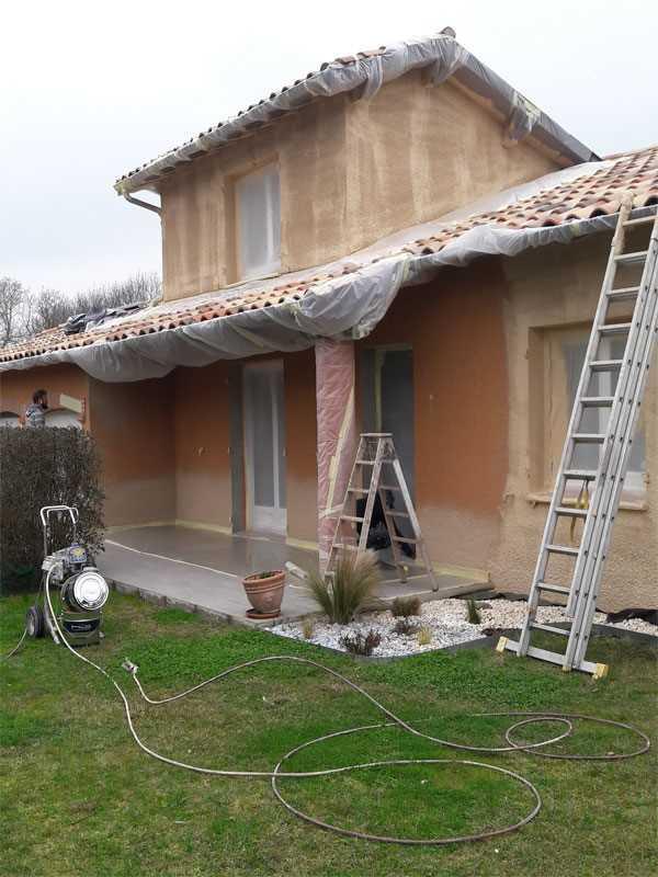imperméabilisation façade