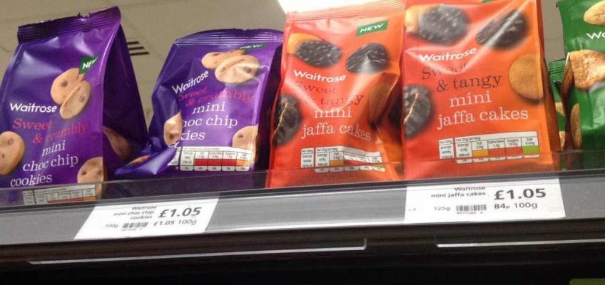 ウェイトローズクッキー~おすすめロンドンお土産ジャファケーキ