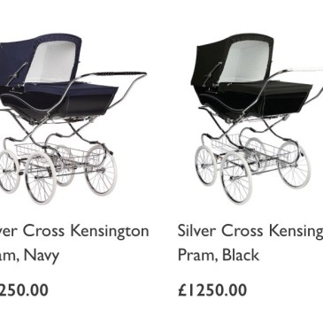 イギリスで大人気なベビーカーまとめ iCandy、Bagaboo、Silver Cross