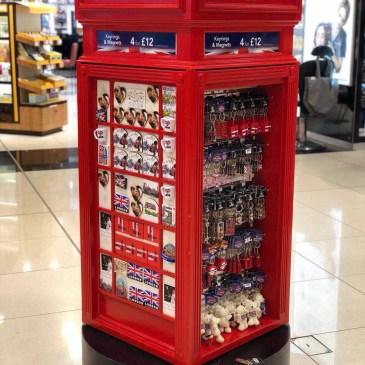 ロンドンヒースロー空港お土産ガイド2019、イギリス発の香水・バッグブランド、雑貨お菓子