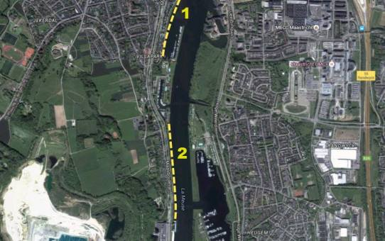 """CNME Maas opruimactie """"plastic soep"""" Maastricht"""
