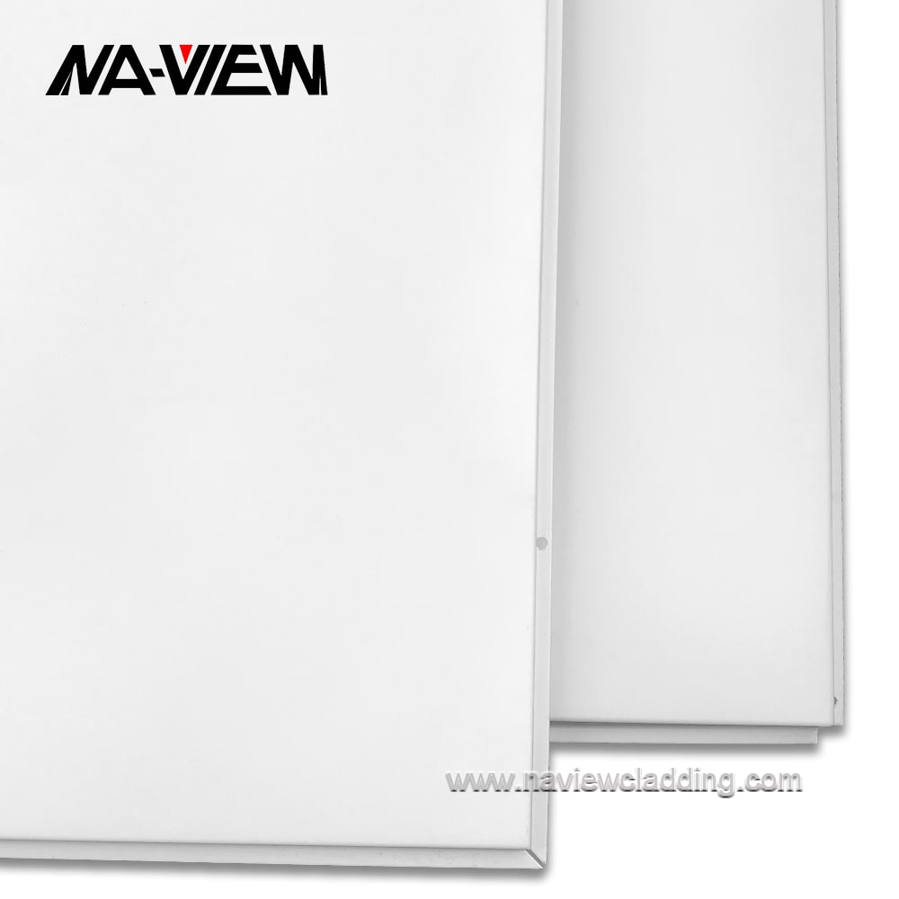 metal cladding ceiling room divider