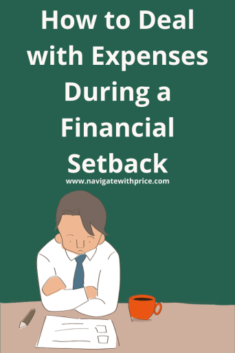 A financial setback occurs when we least expect it. Long-term or short-term contact your providers to make payment arrangements.
