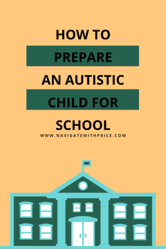Is your child anxious or frustrated about going to school. Here are some pointers on How to Prepare an Autistic Child for School.