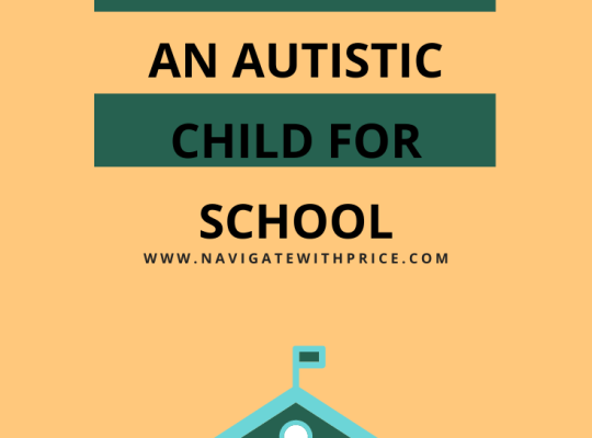 How to Prepare an Autistic Child for School