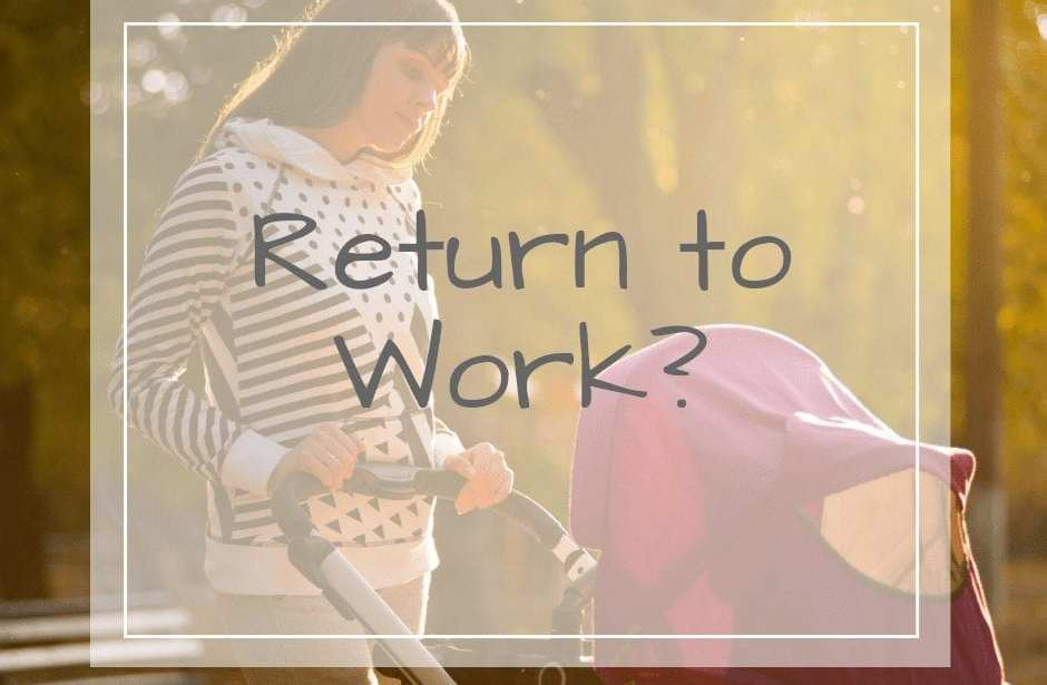 Mom Returning to work