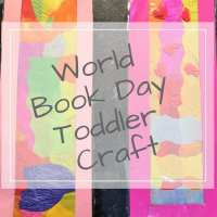 World Book Day Craft for Toddlers