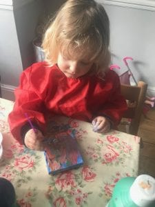 Canvas Painting with Toddlers
