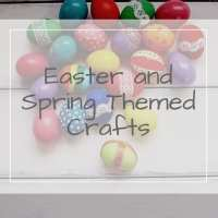 Easter and Spring Craft Ideas for Toddlers