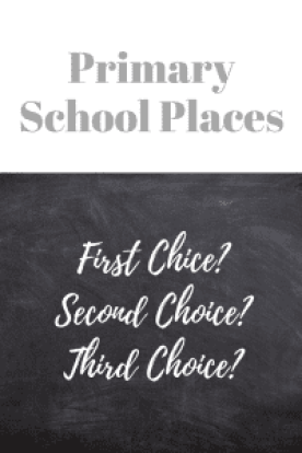 Primary School Places 2018
