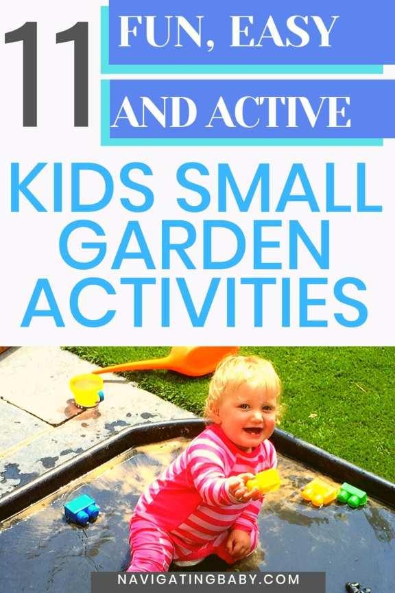 Small garden easter holidays activities