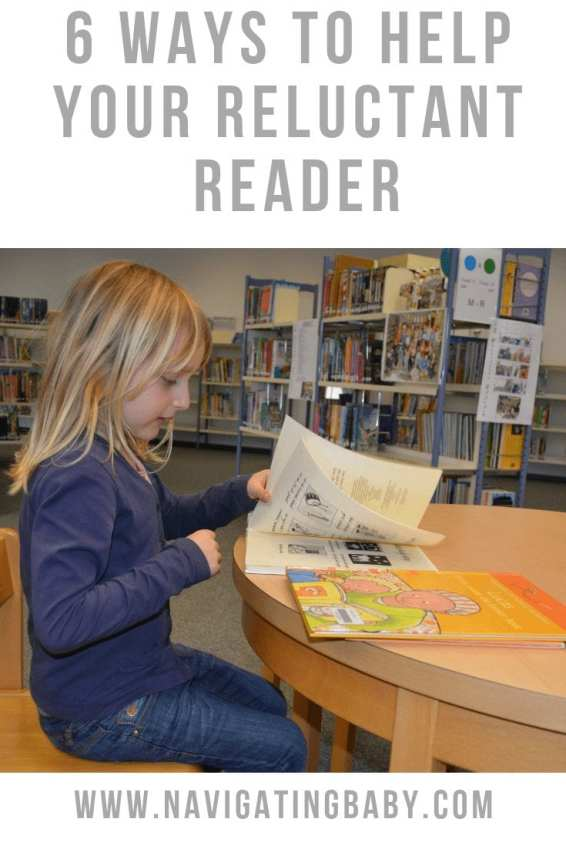 ways to help a reluctant reader