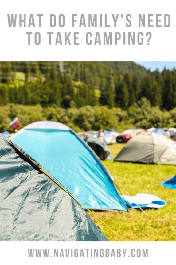Family camping essentials list