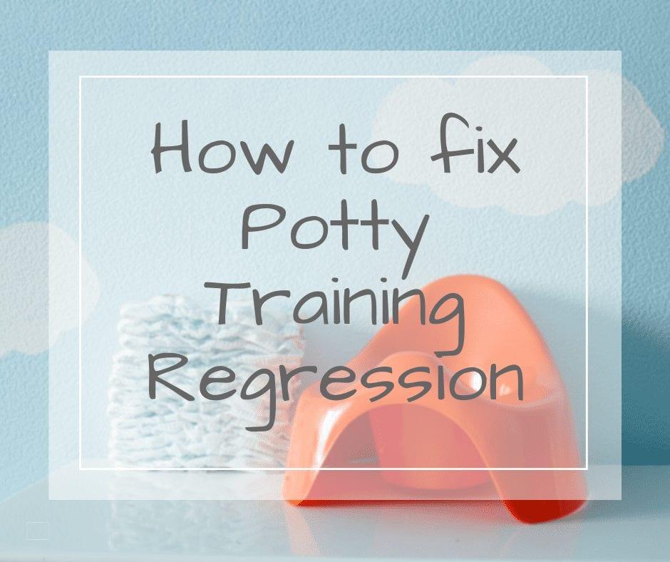 Potty Training Regression