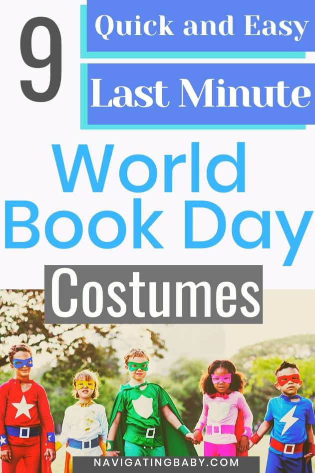 Last Minute World Book Day Costumes