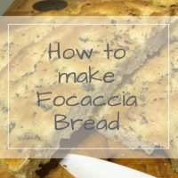How to make Focaccia Bread at home