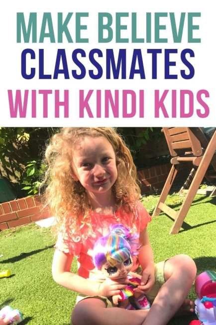 Kindi Kids Dolls as pretend classmates