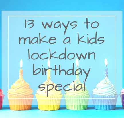 kids lockdown birthday