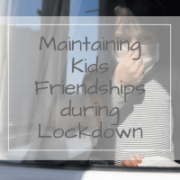 10 ways to maintain kids lockdown friendships