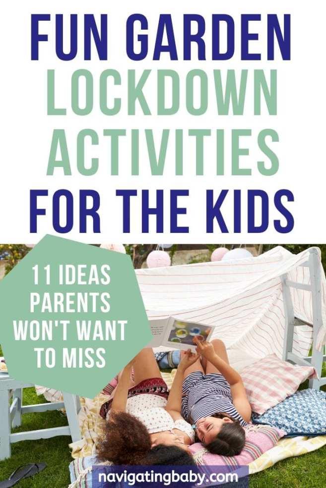 fun garden lockdown activities for the kids
