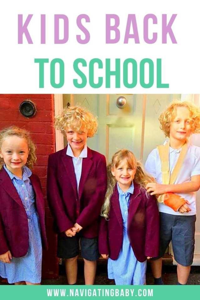 Kids go back to school