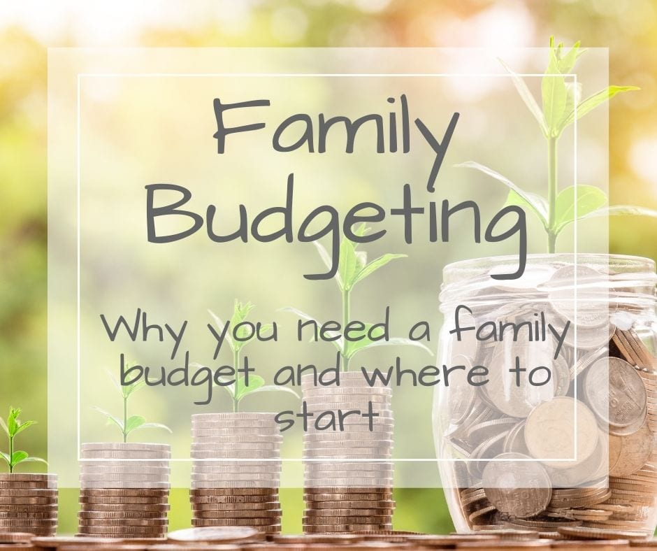 why you need a family budget