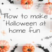 How to make halloween fun at home