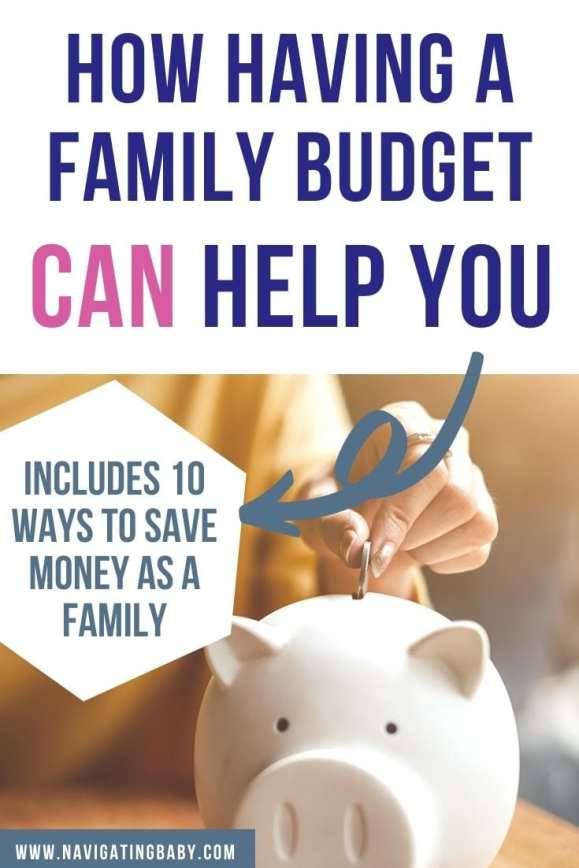family budget 10 ways to save