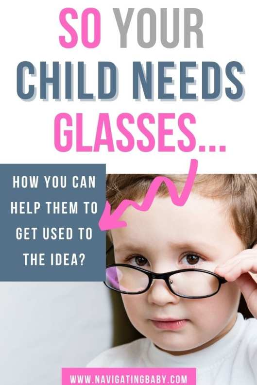 How to help your child if they need glasses