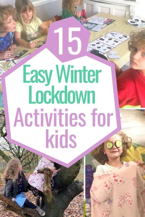 15 winter lockdown activities ideas for kids