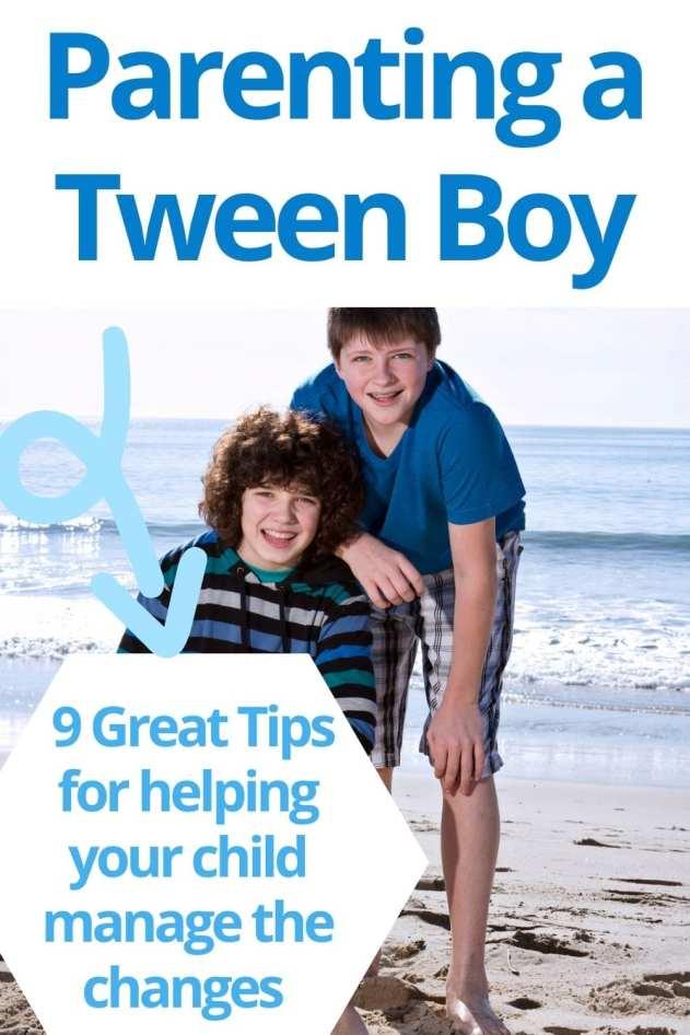 parenting a tween boy