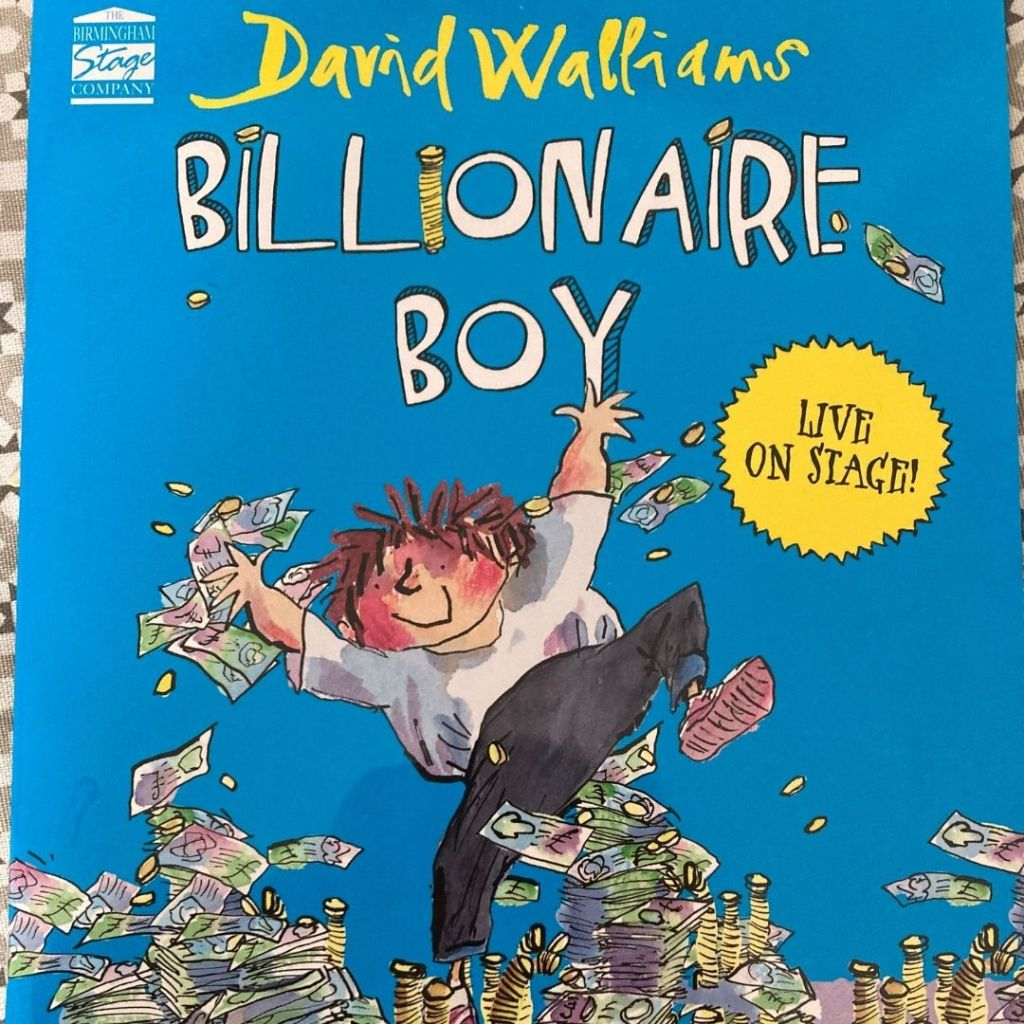 billionaire boy theatre show poster