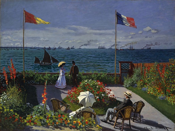 Claude Monet Jardin à Sainte Adresse - how to use sensual overexcitability