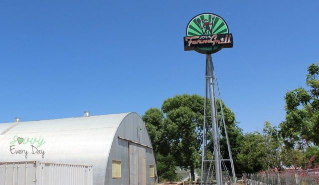 Joe's Farm Grill is a must-see in Arizona, and has been on Diners Drive-ins and Dives.