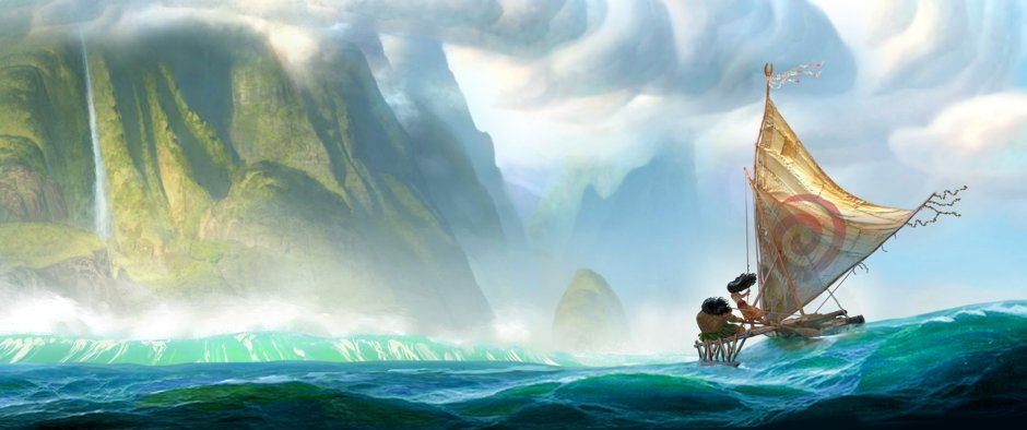 "From Walt Disney Animation Studios comes ""Moana,"" a sweeping, CG-animated comedy-adventure about a spirited teenager on an impossible mission to fulfill her ancestors' quest. Disney. All Rights Reserved."