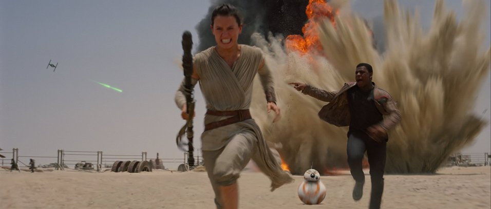 Star Wars: The Force Awakens Film Frame ©Lucasfilm 2015